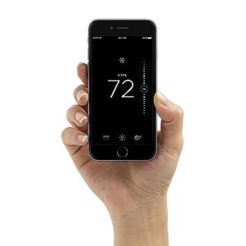 ecobee3 lite Smart Thermostat, Works with Amazon Alexa, 2nd Gen