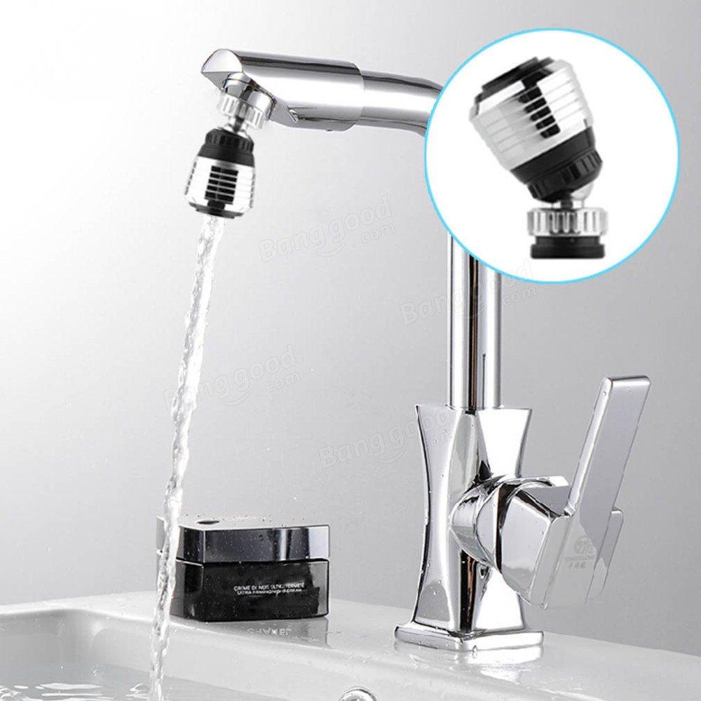 Bazaar 360 rotatetap bubbler filtrent de leau de filet da/érateur sauvant lessayage de robinet dajutage dappareil