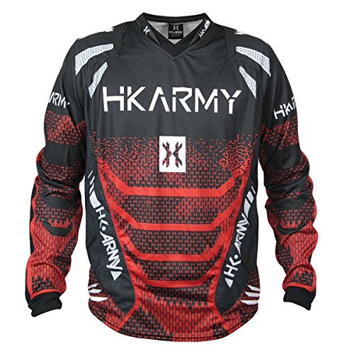 HK Army Freeline Paintball Jersey - Fire - Large
