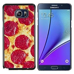 Stuss Case / Funda Carcasa protectora - Salchichones italiana de Nueva York Food - Samsung Galaxy Note 5 5th N9200