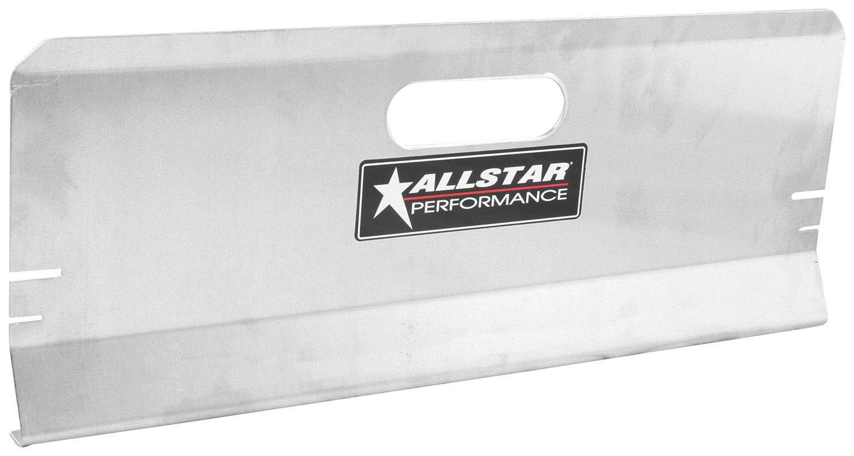 Allstar ALL10119 Aluminum Deluxe Toe Plate - Pair