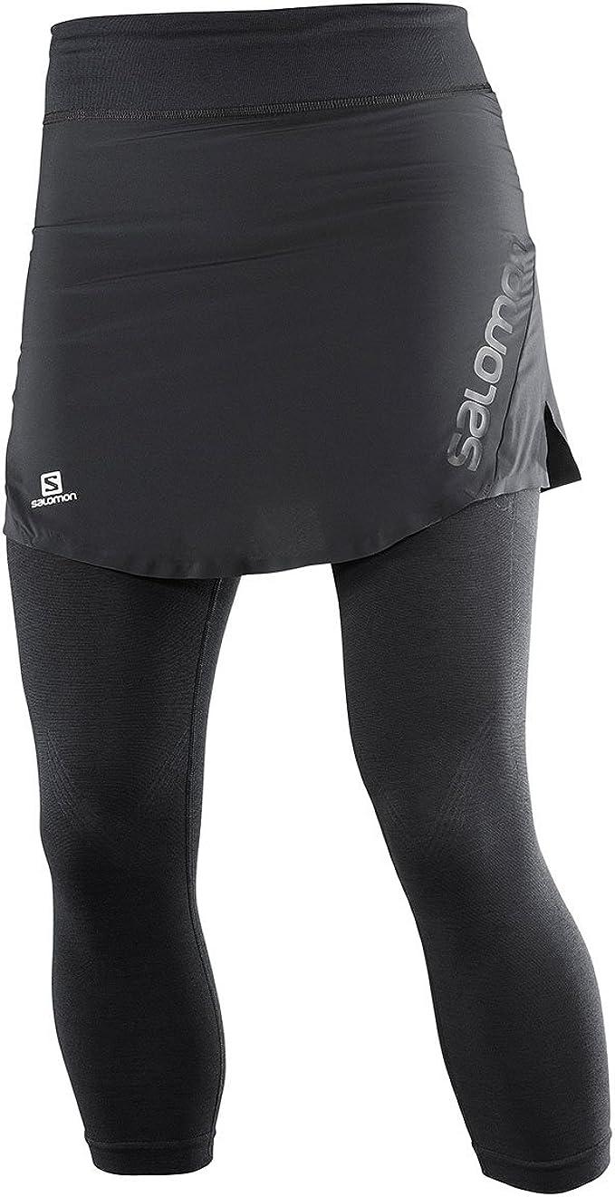 Salomon Lightning Pro SKIGHT W - Falda pantalón, Mujer, Negro ...