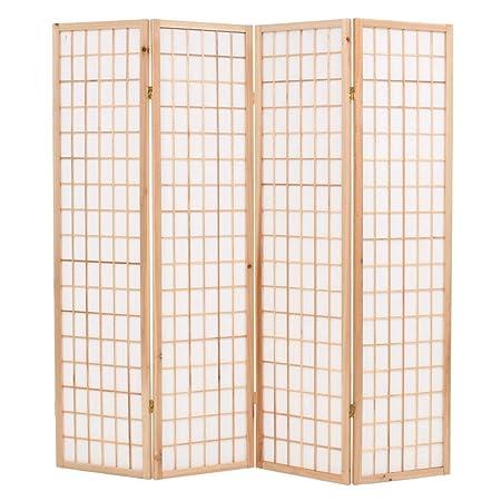 Vidaxl 3fach Bambus Raumteiler Paravent Trennwand Sichtschutz