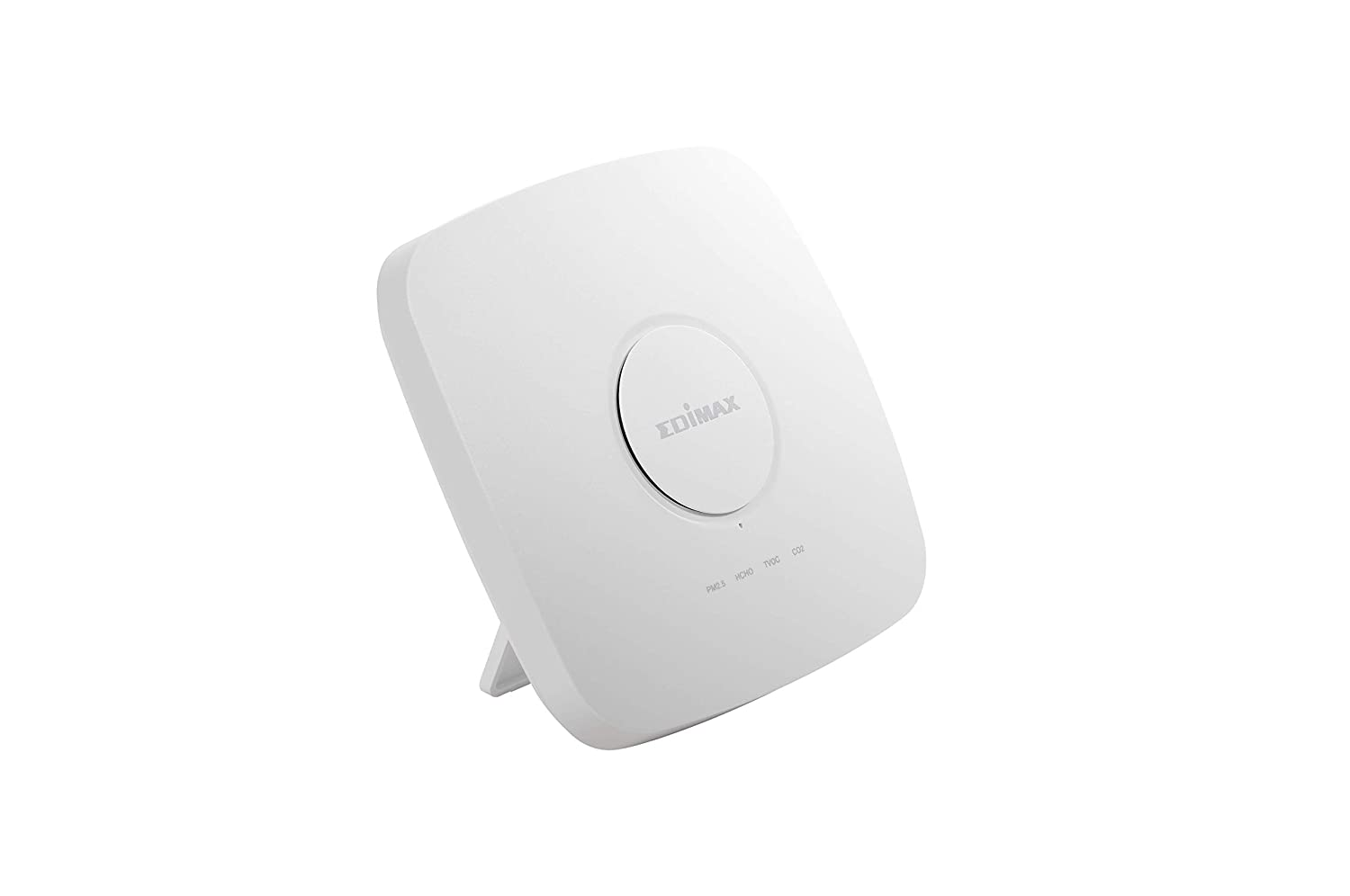 Edimax AI-2002W CO2 Temperature and Humidity Sensors TVOC HCHO PM10 Airbox : 7-in-1 Multi-Sensor Indoor Air Quality Detector with PM2.5