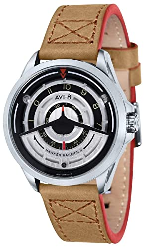 Avi de 8 reloj automático Hawker Harrier II AV de 4047 - 01: Amazon.es: Relojes