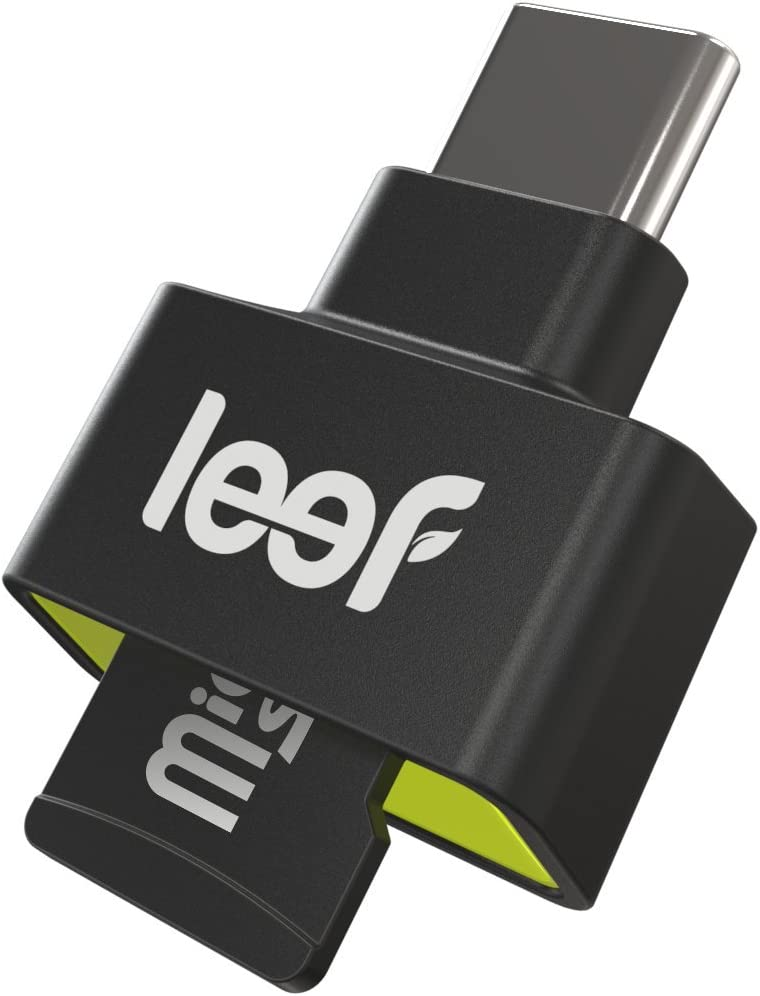 Leef Access-C - Type-C MicroSD Card Reader (USB-C) for Android Phones, Tablets, MacBook, Drones, and all Type-C devices