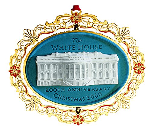 2000 White House Christmas Ornament, 200th Anniversary...