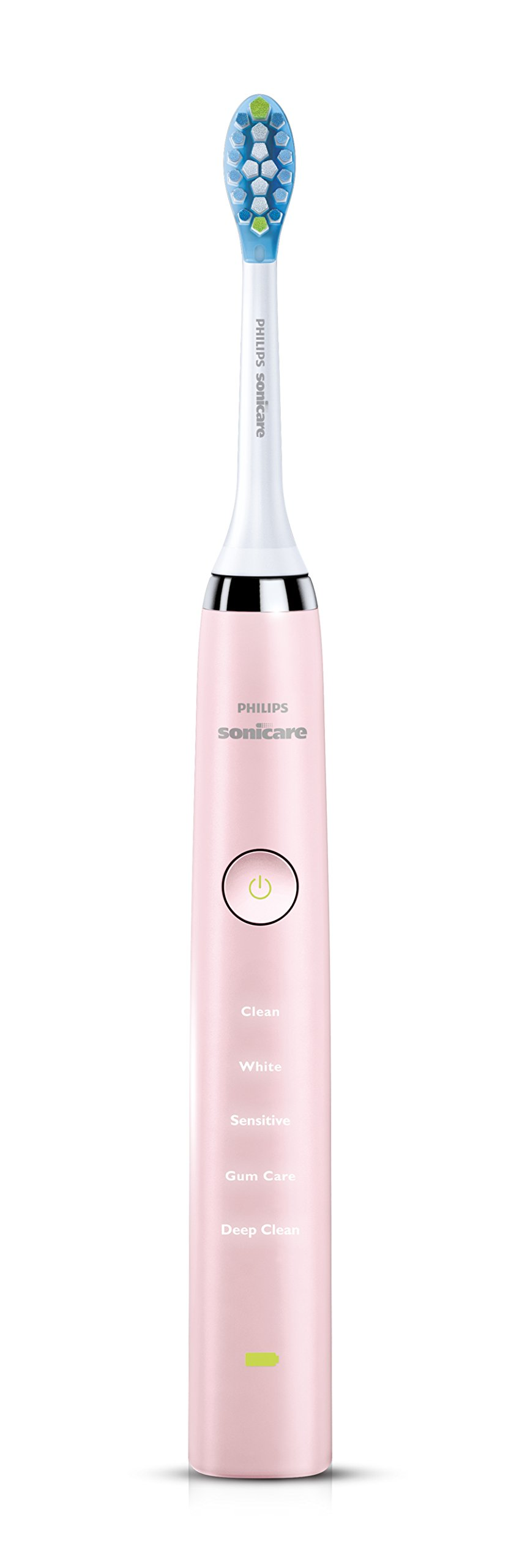 Philips Sonicare Diamond Clean Rechargeable Toothbrush w/Deep Clean Mode with Adaptive Clean Brush Head, Pink by Philips Sonicare (Image #2)