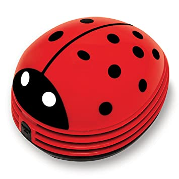 Amazing Gourmet By Starfrit 80603 Mini Table Vacuum Cleaner, Lady Bug