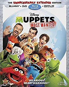 Cover Image for 'Muppets Most Wanted (Blu-ray)'