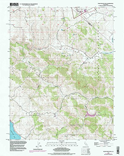 YellowMaps Point Reyes NE CA topo map, 1:24000 Scale, 7.5 X 7.5 Minute, Historical, 1995, Updated 1998, 26.9 x 21.5 in - Paper