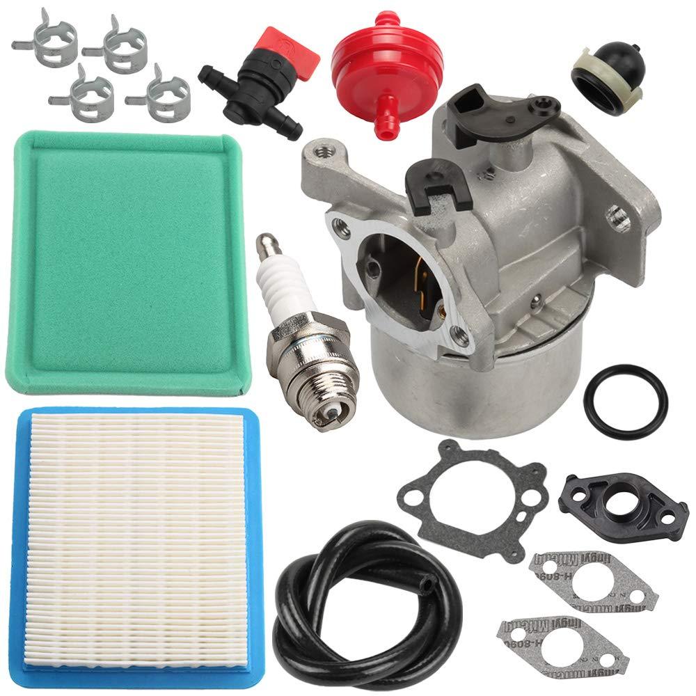 Butom Carburetor for Toro 20330 20331 20332 20333 20334 20092 20093 20095 20064 20065 20066 Recycler Lawn Mower w/Air Filter Tune Up kit