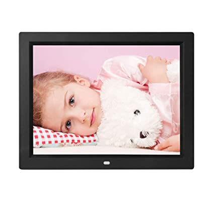 Leoie 12 Inch Digital Photo Frame HD LED Electronic Music Video Album  Picture Frame