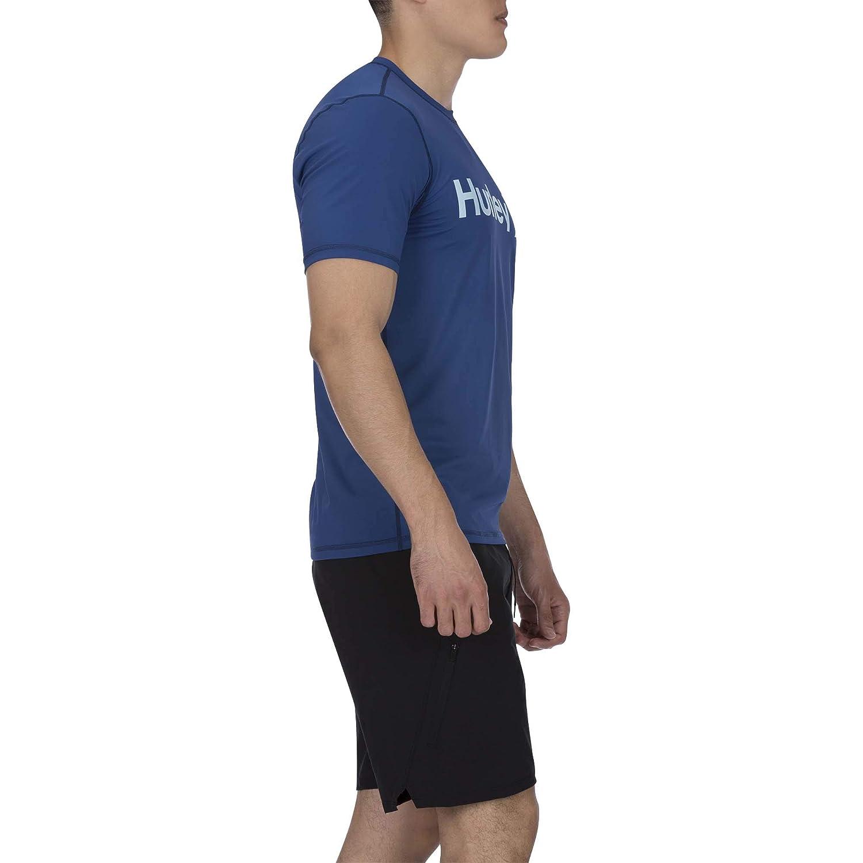 Lycras /& Rashguards Uomo Hurley M One/&Only Surf Shirt S//S