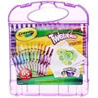 Crayola Mini Twistable Crayons and Paper Set 65pc Set