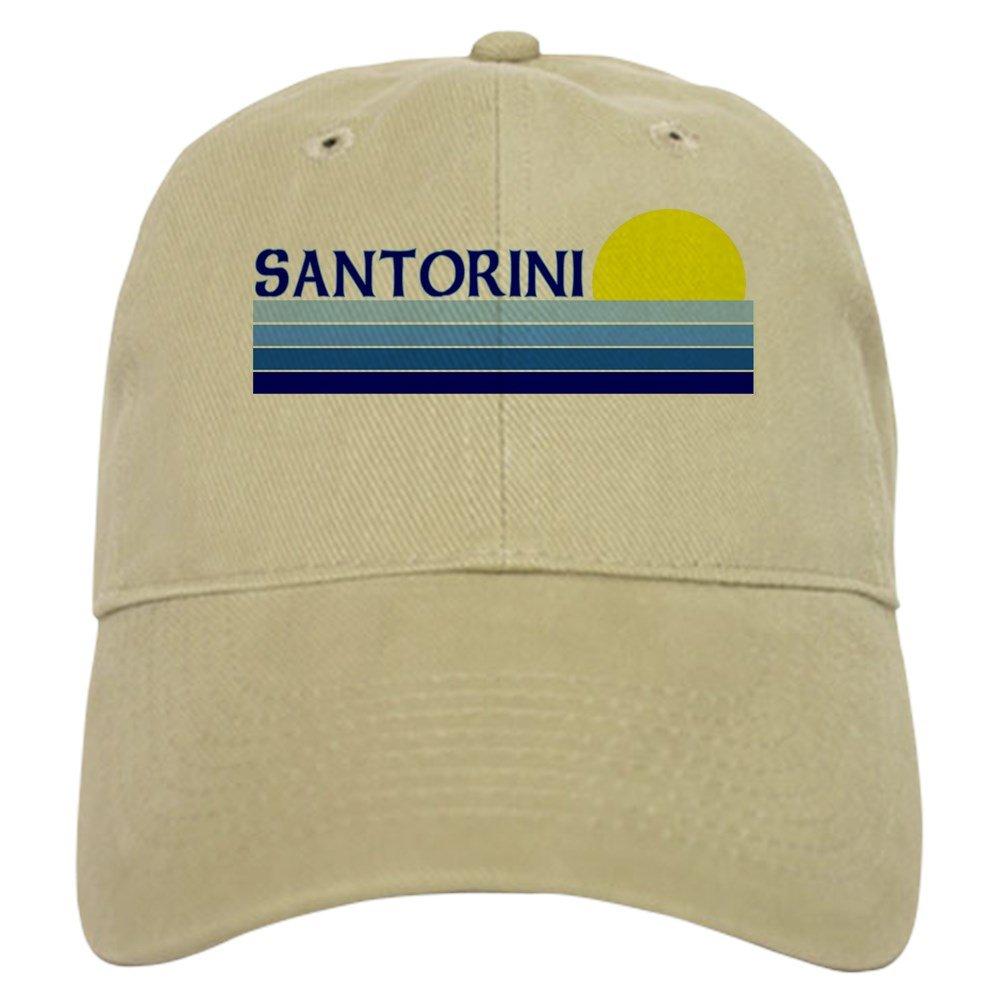 Greece 100/% Cotton Cap 186729945 CafePress Santorini
