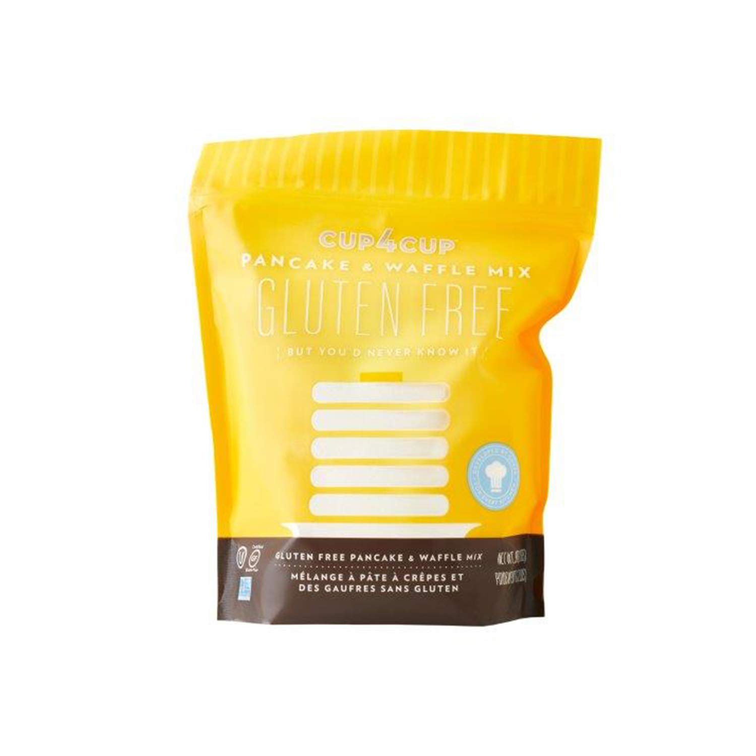 Cup4Cup Gluten-Free Pancake & Waffle Mix, 2 Pound by Cup4Cup