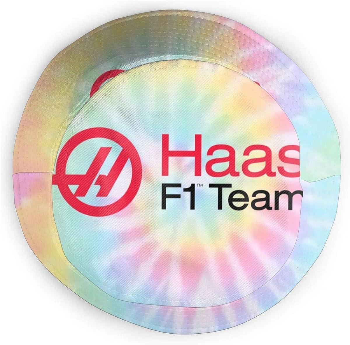 Haas F1 Team Fisherman Hats Women Men Packable Summer Travel Bucket Beach Sun Hat