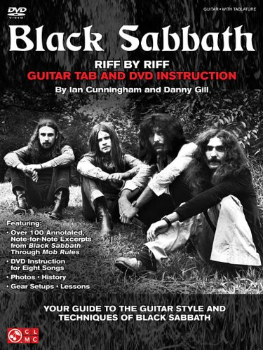 Guitar Black Sabbath (Black Sabbath - Riff by Riff: Your Guide to the Guitar Style and Techniques of Black Sabbath)