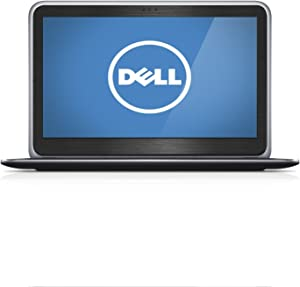 """Black Brushed Aluminum Skin Decal wrap Skin case for Dell XPS 12 12.5"""" 2 in 1 Laptop"""