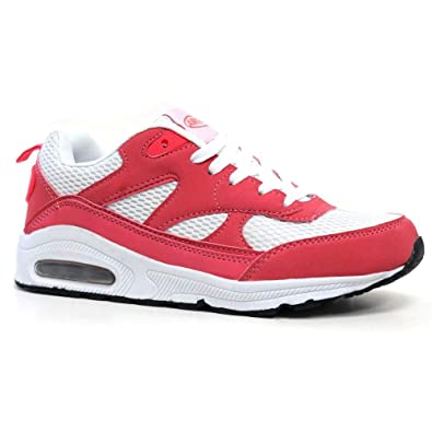6e831794524 Ladies Running Trainers Air Tech Womens Shock Absorbing Fitness Gym Sports  Shoes Size 3 4 5