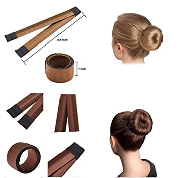 Amazon.com : HENGSONG Bun Shaper Donut Bun Maker Hair Styling Making ...