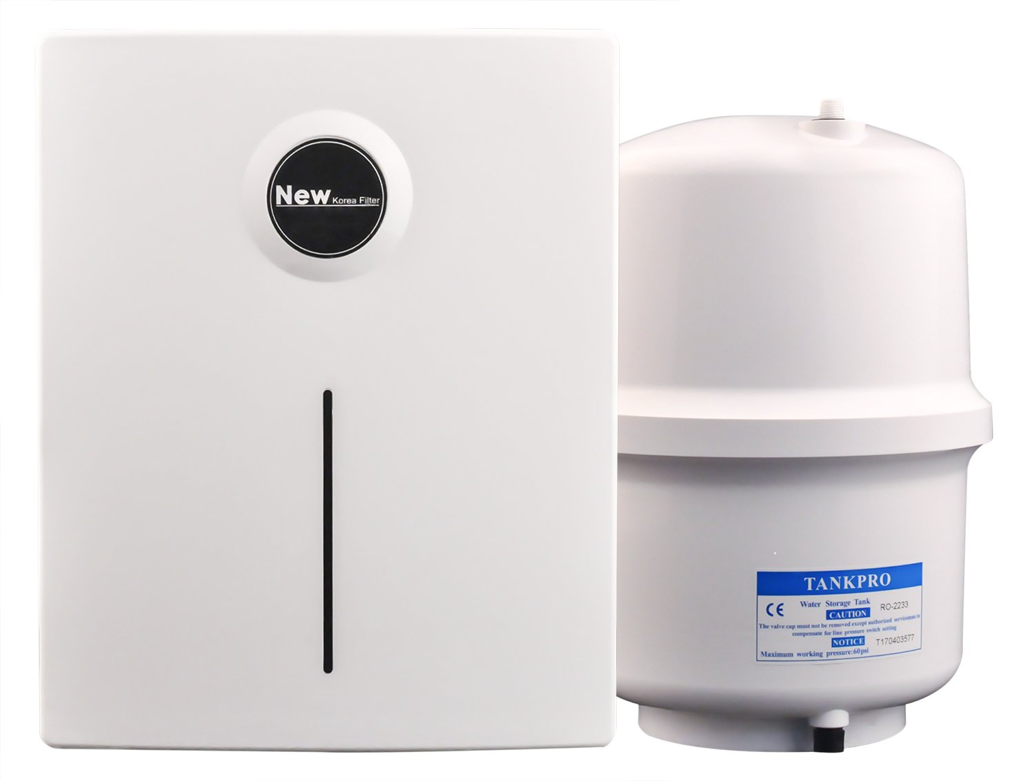 HoLead RO-5 5-Stage Water Purifier Undersink Reverse Osmosis Drinking Water Filter System RO Membrane Home Purifier (EW-RO-XT-5)