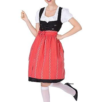 SANNYSIS - Vestido tradicional para mujer, 3 piezas Vestido de ...