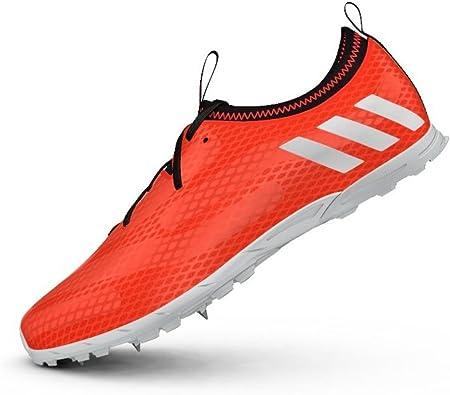 Adidas XCS Scarpe Chiodate Da Corsa, solar redftwr white
