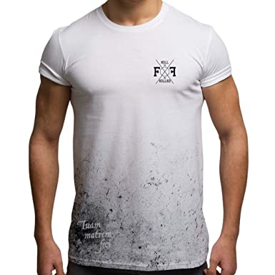 7028c0773 Grunge T Shirts Mens Holiday Clothing Funny Latin Insults Your Mum All Over  Print Tees Festival Tops by Fight Flight: Amazon.co.uk: Clothing