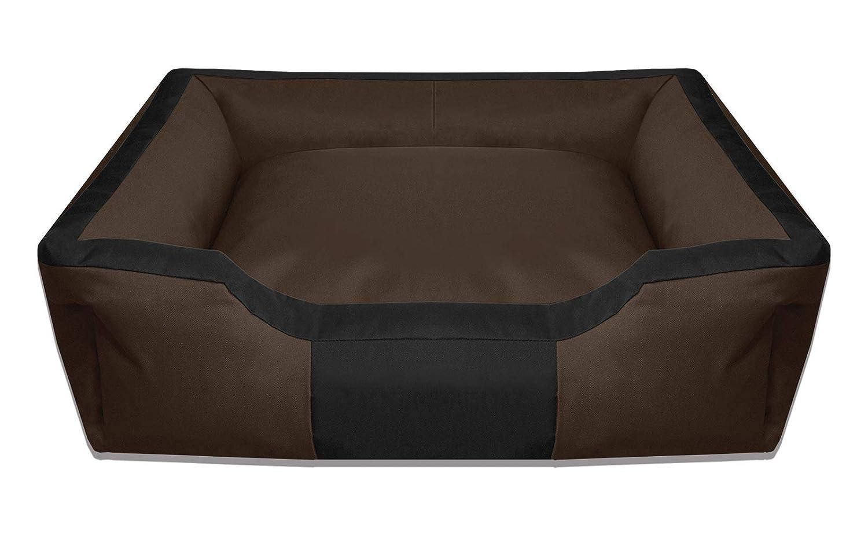 BedDog BRUNO marron/negro XL aprox. 100x85cm colchón para perro, 16 colores, cama para perro, sofá para perro, cesta para perro: Amazon.es: Coche y moto