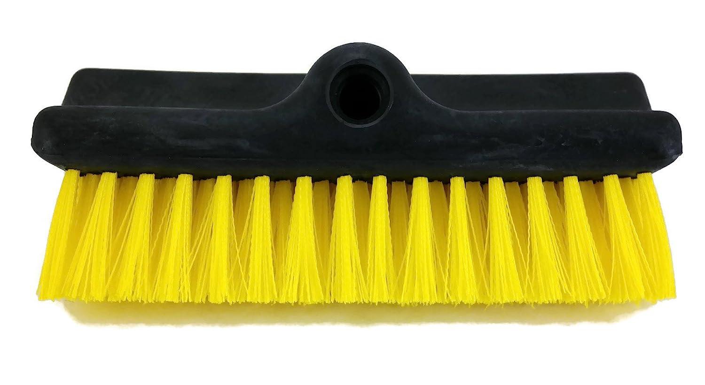 Rubbermaid FG13052342 Bi-Level Brush Head, Yellow