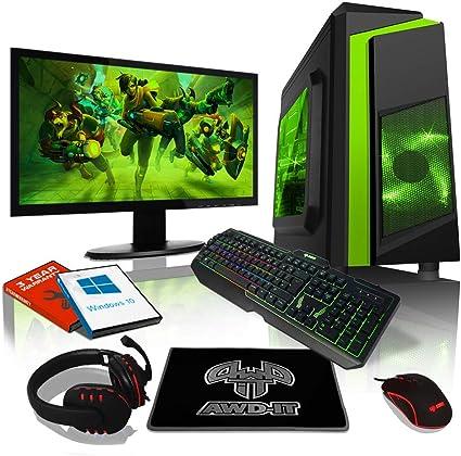 AWD-AMZ-FR: ADMI Paquete de ordenador para juegos, KBM, AMD A10 ...