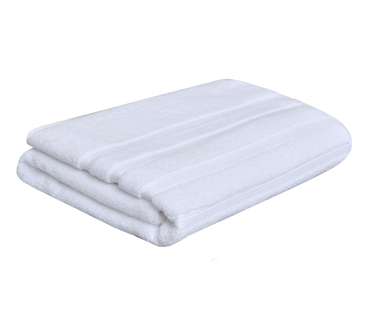 Metrekey Large Bath Towel Luxury Hotel Spa Collection Absorbent Bathroom Towels 35x70 inches Soft Clearance Organic 100% Cotton Thick Ultra Oversized White