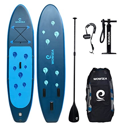 Tabla hinchable paddle surf - Wowsea paddle board hinchable con tamaño de 320 x 81 x