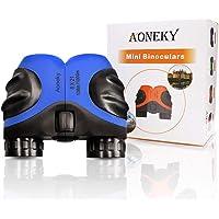 Aoneky Kids Binoculars - Mini Compact Zoom Binoculars for Children - Best Gift, 8x21, Waterproof / Shockproof Rubber