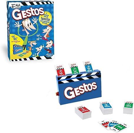 Hasbro Gaming - Juego de mesa Gestos (Hasbro B0638190) (versión en portugués): Amazon.es: Juguetes y juegos