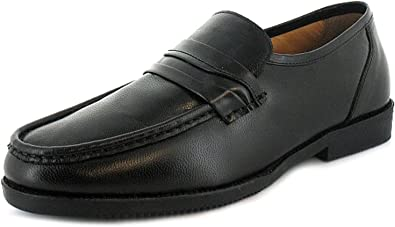 Roamers Extra Wide Leather Lightweight EEE Fit Adjustable Mens Shoes UK 6-14