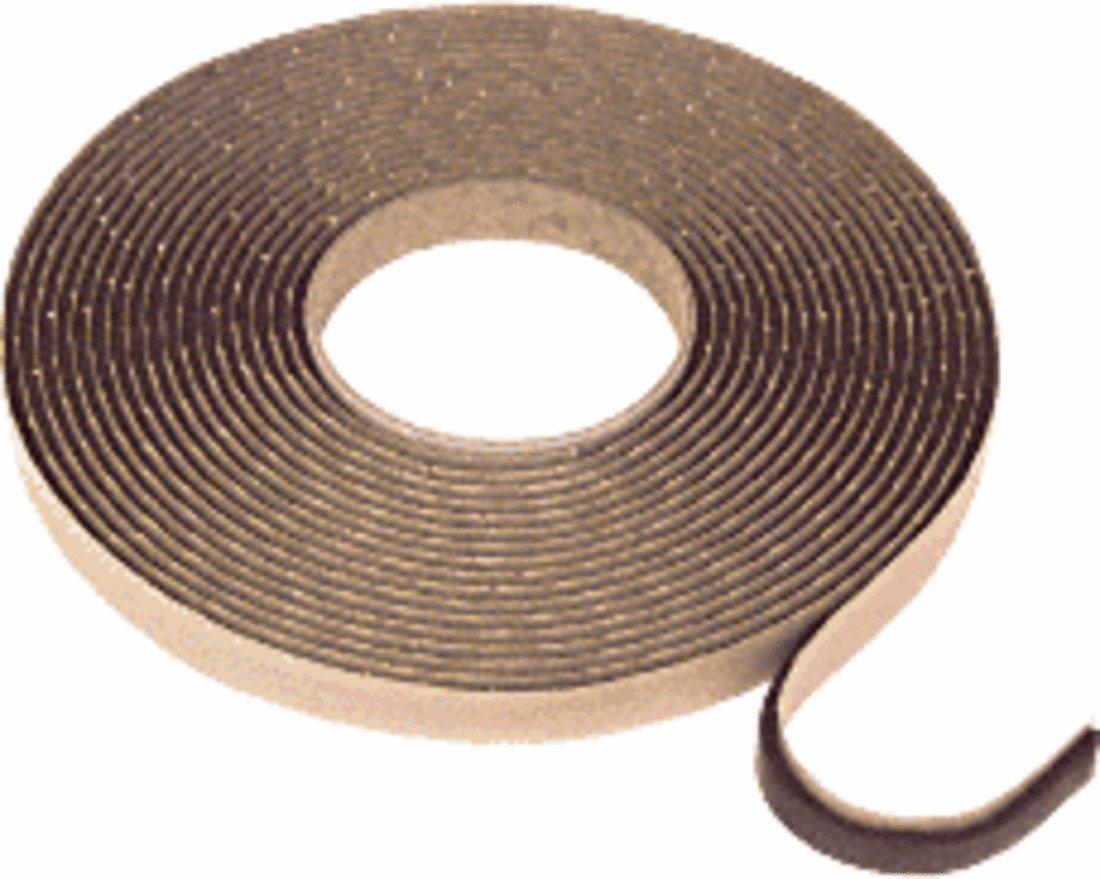 CRL Black 1/8'' x 1/2'' Butyl Architectural Tape - 20 rolls