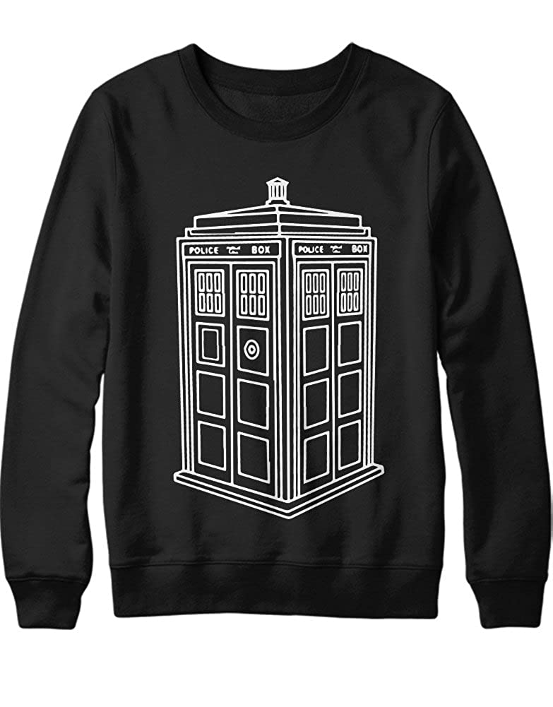 Sweatshirt Dr Who POLICECALLBOX H23177