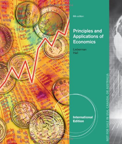 Principles and applications of economics marc lieberman robert principles and applications of economics marc lieberman robert hall 9781133188261 amazon books fandeluxe Gallery