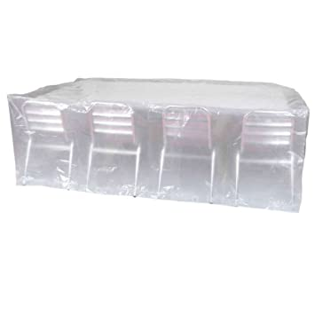 Ribiland 07353 Housse de Table Rectangulaire Transparent 2,20 m ...