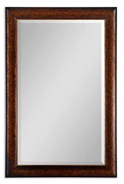 Extra Large 58 Rustic Bronze Wall Mirror