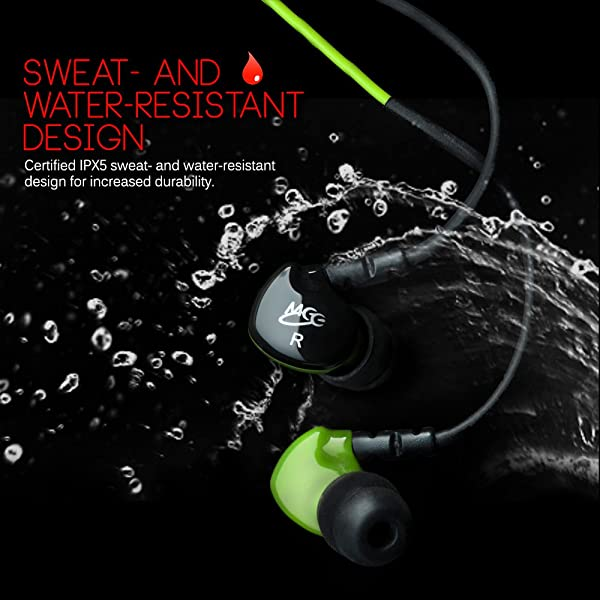 MEE audio Sport-Fi S6P Memory Wire In-Ear Headphones