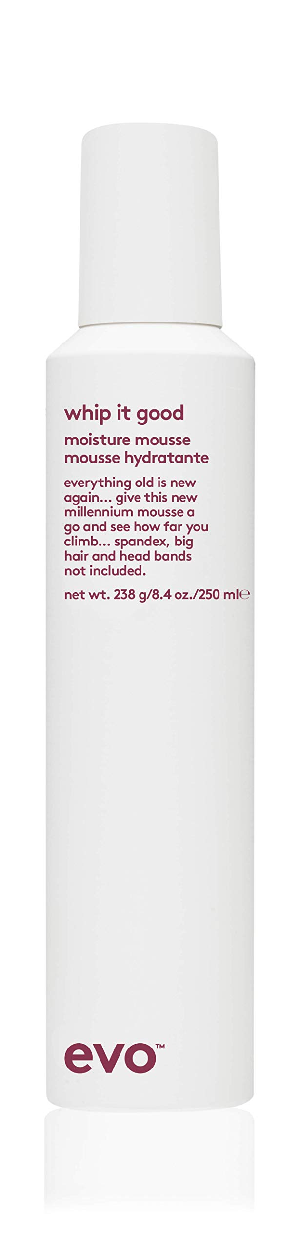 Evo Whip It Good Styling Mousse, 8.4 oz, 250 mL