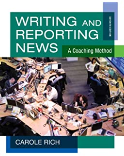 news writing and reporting textbook publishers