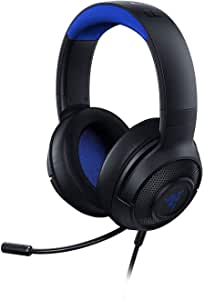 Razer Kraken X: Ultralight Gaming Headset: 7.1 Surround Sound Capable - Lightweight Frame - Bendable Cardioid Microphone - for PC, Xbox, PS4, Nintendo Switch- RZ04-02890200-R3M1