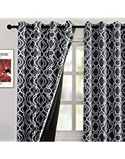 Moroccan Full Blackout Curtains