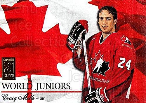 (CI) Craig Mills Hockey Card 1995-96 Donruss Elite World Juniors 19 Craig ()