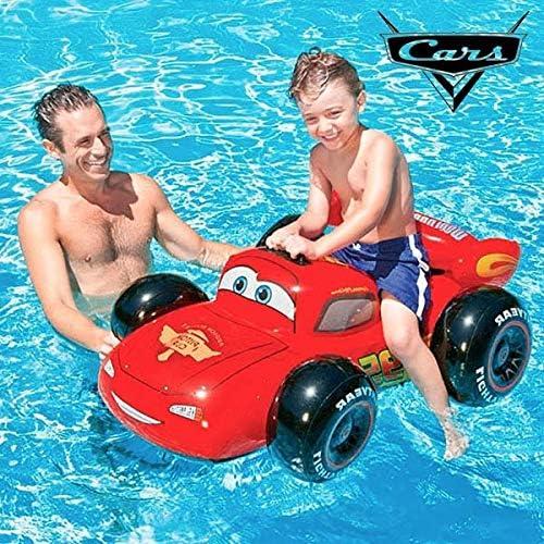 coche inflable Rayo McQueen boya de mar piscina: Amazon.es ...